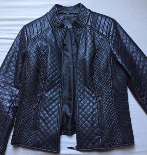Charles Vögele Faux Leather Jacket black