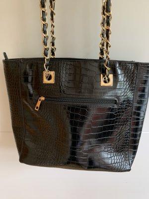 Asos Handbag black-gold-colored