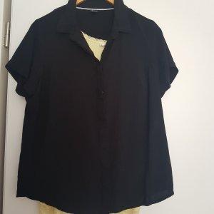 Sure Short Sleeved Blouse black viscose