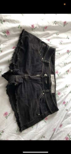 & DENIM Hot pants zwart