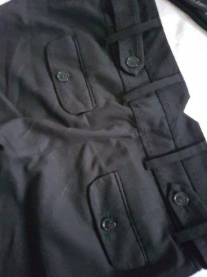 schwarze kurze Hose von MNG Suit