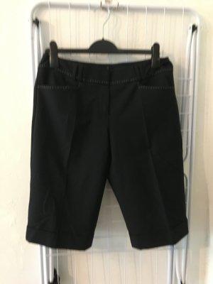 Comma Pantalone a 3/4 nero Viscosa