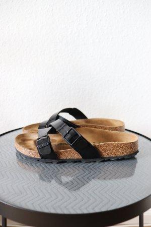 Birkenstock Strapped Sandals black-brown