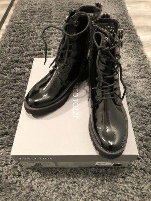 Marco Tozzi Bottines à lacets noir