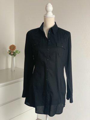 Schwarze Langarm Bluse von Esprit Gr. M
