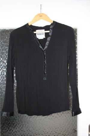 Schwarze langarm Bluse von Sublevel