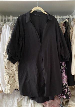 Schwarze lange Bluse/ Hemd Zara