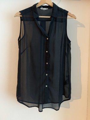 H&M Camicetta lunga nero
