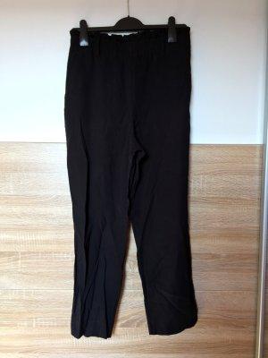 Schwarze lange Business Hose, Paperbag von Zara, Gr. S