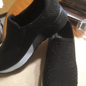 schwarze Laufschuhe, Größe 38, VENICE