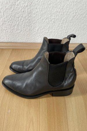 Schwarze Leder-Boots von Cano Shoes, Top-Zustand, Gr. 39