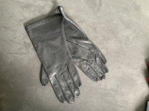 Schwarze Lederhandschuhe NEU