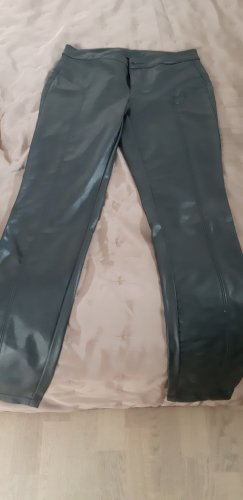 100 Leather Trousers black