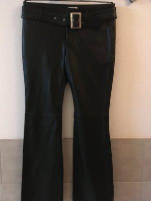 schwarze Lederhose, Top Qualität und Passform