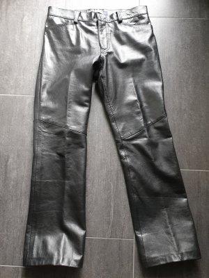 Schwarze Lederhose von GAP