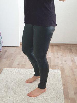 schwarze Lederhose von Mrs&Hugs
