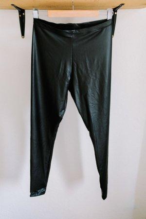H&M Leggings nero Poliestere