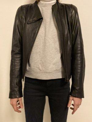 C&A Yessica Veste en cuir noir