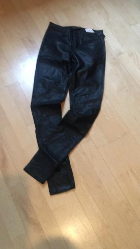 Daysie Leather Trousers black