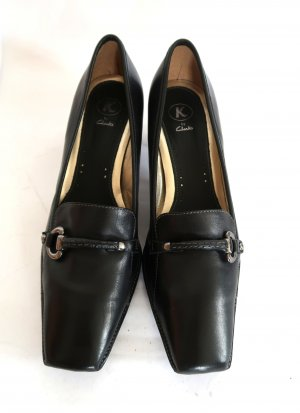 Clarks Loafers black leather