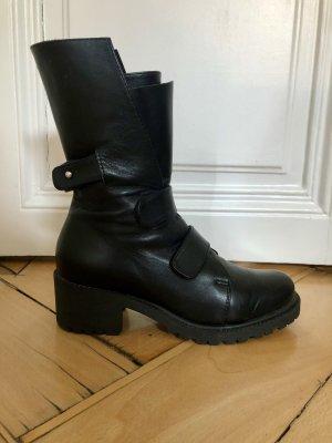 Mihaela Glavan Chelsea Boot noir cuir