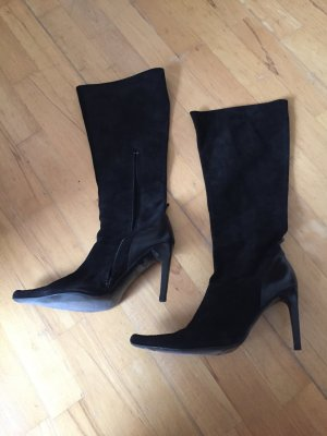 Buffalo London High Heel Boots black leather