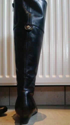 Schwarze Lederstiefel von Vagabond, Gr 40