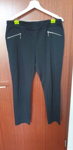 Schwarze Legging mit Reißverschluss Details