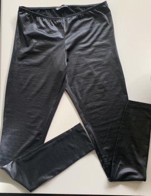 Schwarze leggings in Größe M