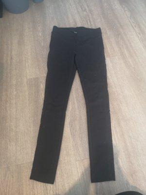 Schwarze Leggings mit Cutouts