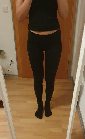 schwarze Leggings von H&M