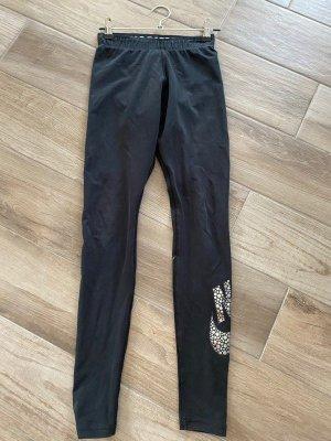 Schwarze Leggings von Nike, Gr. XS
