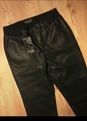 schwarze, leicht glänzende Hose von Laura Scott, NEU, Gr. 36, kein Leder!!