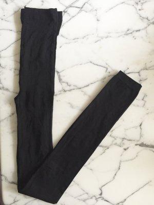 Schwarze leicht transparente Leggings NEU