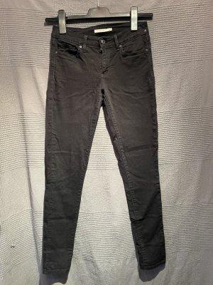 Schwarze Levi's Jeans