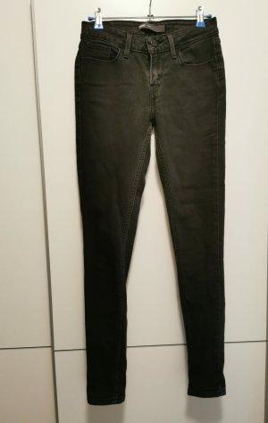 Levi's Pantalon cigarette noir