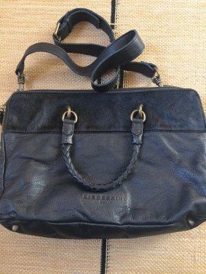 Schwarze Liebeskind Tasche Leder