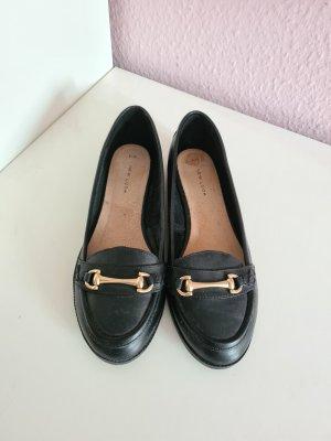 New Look Pantoffels zwart-goud