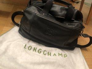 Longchamp Reistas zwart Leer