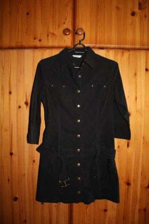 Schwarze Longshirt Bluse