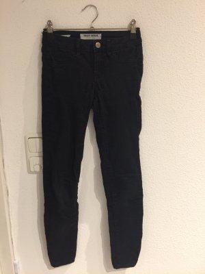 Schwarze Low Waisr Skinny Jeans