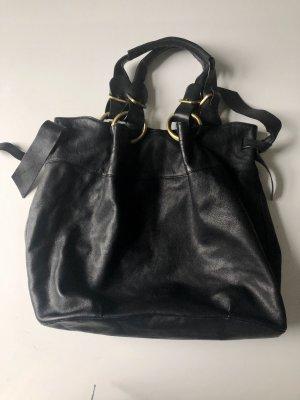 schwarze Lupo Handtasche