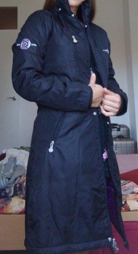 covalliero Robe manteau noir-violet