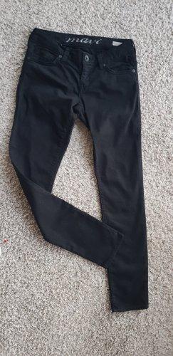 Mavi Jeansy z prostymi nogawkami czarny