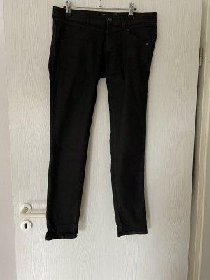 Mavi Jeansy z wysokim stanem czarny