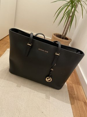 Schwarze Michael Kors Jet Set Travel