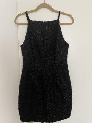 Schwarze Mini Kleid