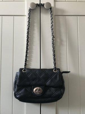 Mini Bag black-silver-colored