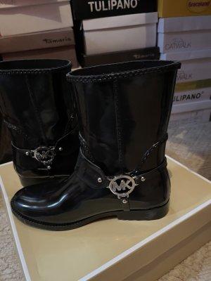 Schwarze MK Boots
