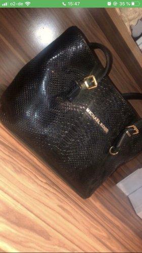 Schwarze MK Tasche